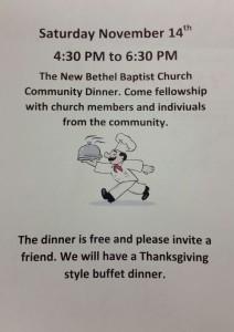community_dinner