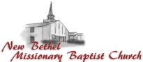 New Bethel Missionary Baptist Church